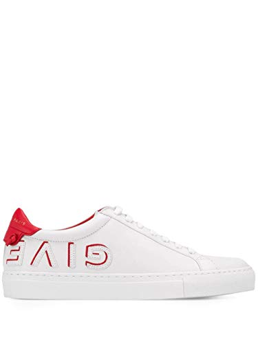 Givenchy Luxury Fashion Damen BE0003E0DF112 Weiss Leder Sneakers | Jahreszeit Permanent