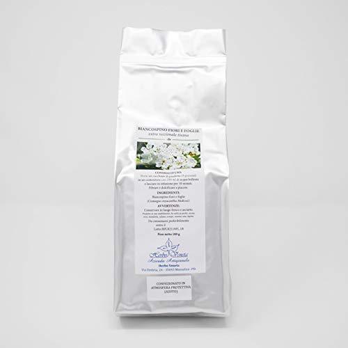 Herbo Veneta Biancospino Fiori e Foglie Tisana - 5 Confezioni da 100 G