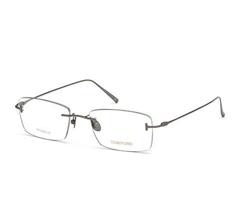 armação de óculos Tom Ford mod tf5678 008 titanium