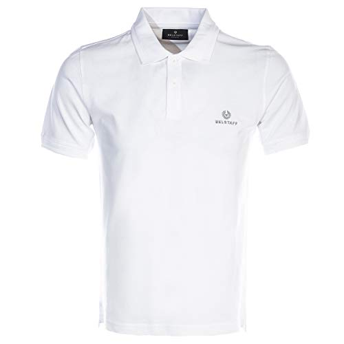 Belstaff Kurzarm Poloshirt weiß X Large