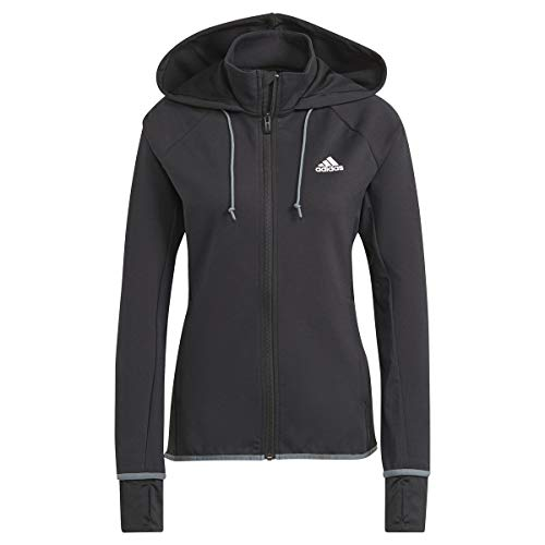 adidas W MT FZ HD Sweatshirt mit Kapuze für Damen, GL3965, GL3965 M