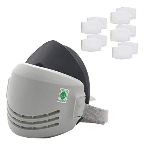 Máscara industrial de seguridad de soldadura de protección contra el polvo de pintura...