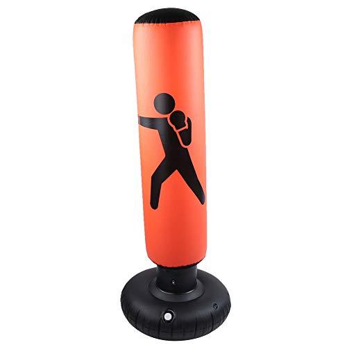 iFCOW - Saco de boxeo hinchable (PVC, 160 cm, para adultos)