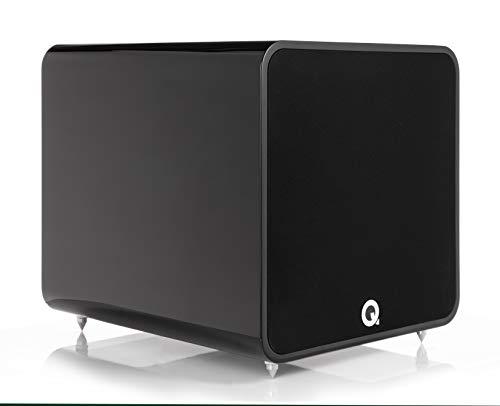 Q Acoustics Q B12 - Subwoofer - Hoogglans Zwart