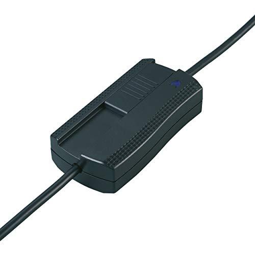 REV 0509080555 Zuleitungsschalter, Dimmer-Schalter 3-stufig, 20-500W, 230VAC, schwarz