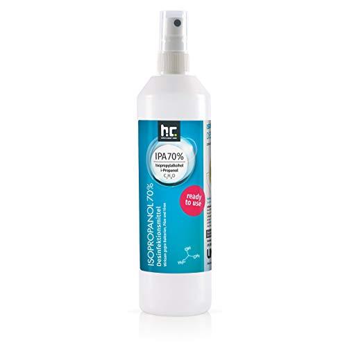 4 x 250 ml (1 Liter) Zugelassenes Desinfektionsmittel für Hände & Flächen - anwendungsfertig - auch geeignet für Lebensmittelindustrie