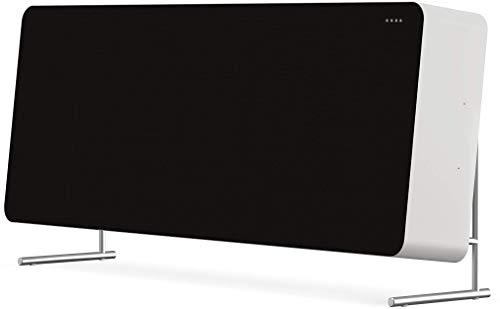 Braun Audio LE01 Premium HiFi Design Lautsprecher (raumfüllender Sound dank BMR-Treiber, WiFi, Bluetooth, Streaming, Airplay 2, Chromecast, Multiroom, Sprachsteuerung, Privatmodus, App), Weiss