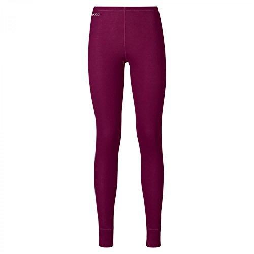 Odlo Suw Bottom Pant Active Originals Warm God JuL sous-vêtement pour Femme Magenta Violet XL