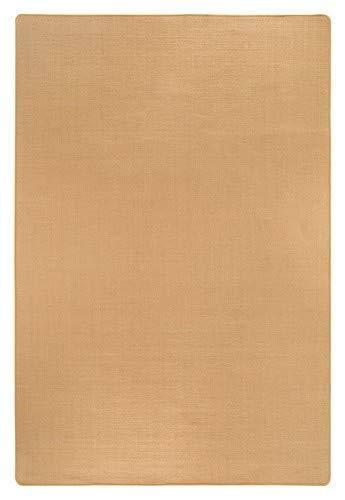 Misento - Alfombra de sisal, Sisal, Beige, 100 x 150 cm