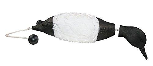 Avery Sporting Dog EZ-Bird, Stockente (Schwarz/Weiß), Apportierdummy, Hundespielzeug, Hundetraining, schwimmfähig, ca. 28x15x9cm