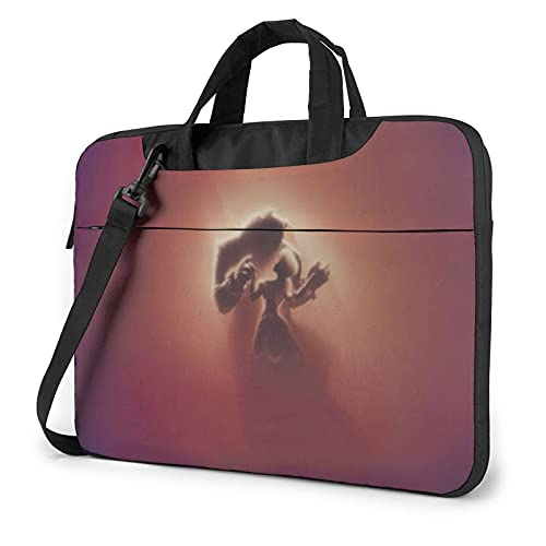 Beauty and The Beast Laptop Sleeve Case Handheld One Shoulder Shockproof Oxford Protective Case/Notebook Computer Pocket Case/Tablet Briefcase Carrying Bag Compatible-13 inch