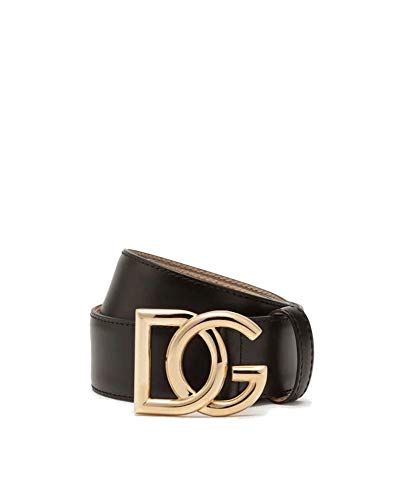 Luxury Fashion | Dolce E Gabbana Dames BE1356AX35080999 Zwart Leer Riemen | Lente-zomer 20
