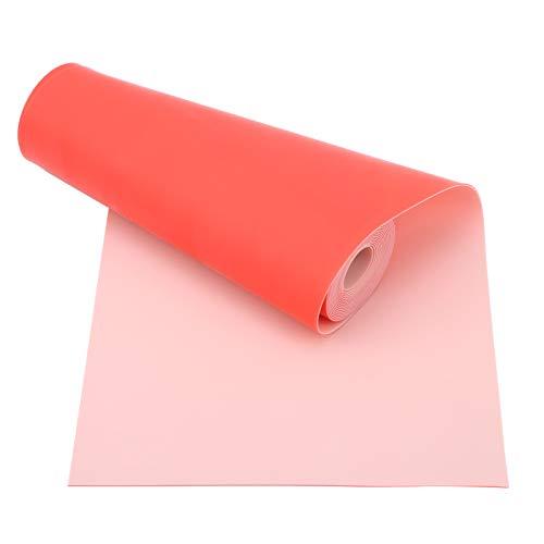 Banda elástica plana, 0,7 mm x 2 m Bandas de goma para tirachinas Caza Catapultas Bandas de goma Banda elástica plana Banda elástica de resistencia a la aptitud roja para tiro en catapulta