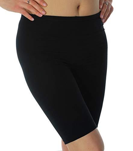 Mallas de verano para ciclismo, gimnasio, correr, yoga, pantalones cortos por encima de la rodilla Negro negro XXL