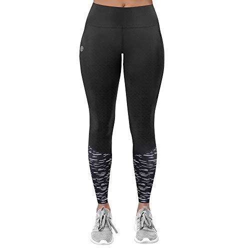 Proviz Leggings para correr Reflect360 para mujer, Mujer, Longitud completa negra., 38