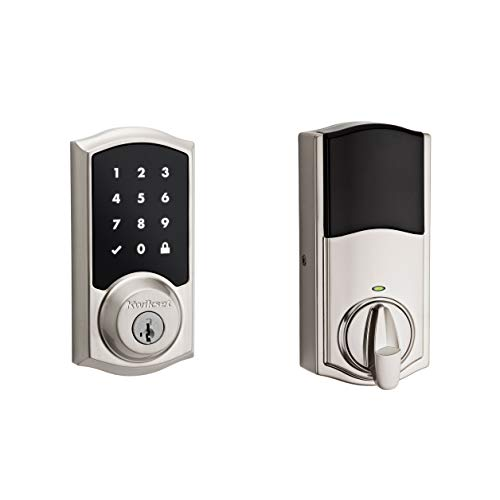 Kwikset 99160-020 Smartcode 916 Traditional Smart Lock Touchscreen Electronic Deadbolt Door Lock...