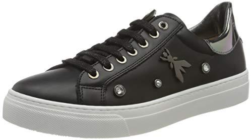 Patrizia Pepe PPJ509 Sneaker, Black, 30/30.5 EU