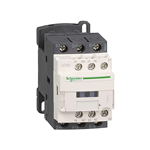 Schneider Electric LC1D09P7 TeSys D Contactor, 3P,...