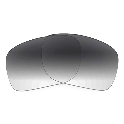Revant Lentes de Repuesto Compatibles con Gafas de Sol Ray-Ban Clubmaster Square RB3916 52mm, No Polarizados, Gradiente Gris