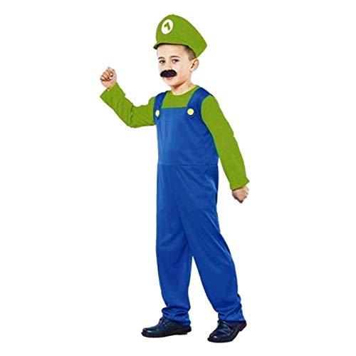 fyasa 706394-t01 Klempner kostuum, groen, medium