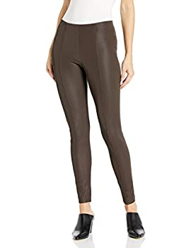 Kendall + Kylie Women s Pebbled Faux Leather Leggings Mulch Small