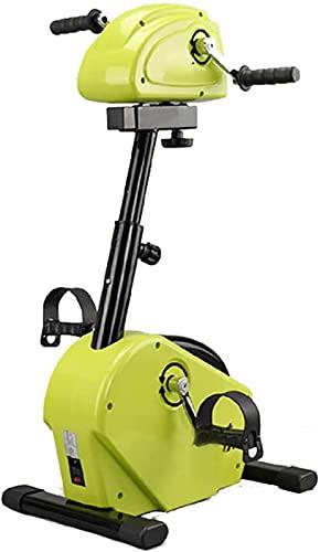 LCJD Máquina de rehabilitación eléctrica, extremidades Superiores e Inferiores Bicicleta Manos y pies Entrenamiento síncrono Equipo de Entrenamiento de rehabilitación de Modo Dual Activo Máquina