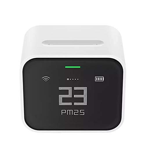 Cleargrass Luftdetektor Lite, IPS-Bildschirm mit Touchfunktion, PM2.5-Mi-App, Homekit, Luftkontrolleinheit für Zuhause mit Monitor