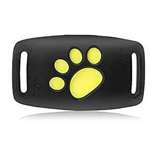 Pet GPS Tracker,Tracking for Dogs and Cats,Smart Pet Tracker App Control,Waterproof Dog Collar Tracking Device with Remote Voice Monitor, Waterproof Real Time Tracking Device,Remote Calling (blue)