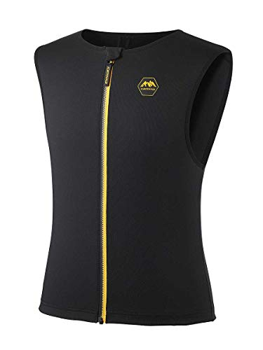 Icetools Rückenprotektor Fly Vest 19, Größe:S, Farben:Black/orange