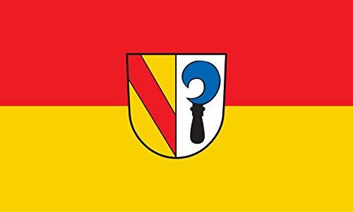 Unbekannt magFlags Tisch-Fahne/Tisch-Flagge: Malterdingen 15x25cm inkl. Tisch-Ständer