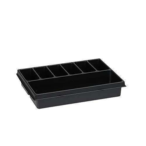 Sortimentskasten Einsatzboxen | Bosch Sortimo i-BOXX 72 Kleinteileinsatz 7-fach | Sortierboxen für Kleinteile | Schrauben Sortierkasten
