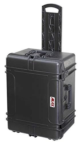 Max Cases - Trolley Vuoto a Tenuta Stagna, Ermetico per Trasportare e Proteggere Apparecchiature e Materiali Sensibili, MAX620H340TRV, Dimensioni Interne 620 x 460 x 340 mm