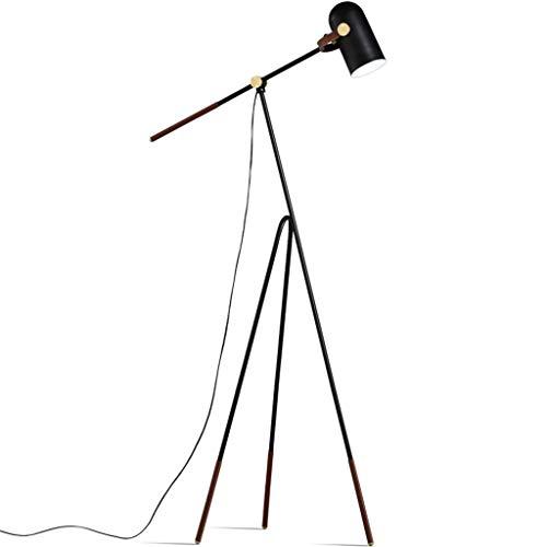 WYZ Floor Lamp Terra staande lamp, verstelbaar, led-statief, geschikt voor het aflezen van vissen op lange arm in de woonkamer en slaapkamer