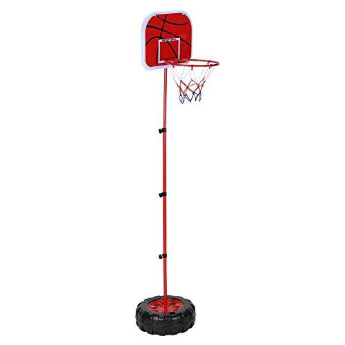 Alomejor 1,52 Mt Kinder Basketballkorb Einstellbare Höhe Stehen Poolside Indoor & Outdoor Schießen Spielzeug Ball/Basketball/Gummiball Rahmen Jungen Und Mädchen Familie