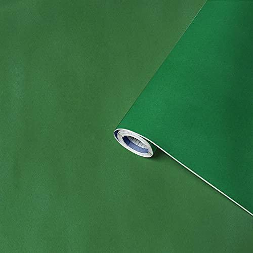 Venilia Lámina adhesiva aterciopelada verde, lámina de terciopelo, lámina de terciopelo, lámina decorativa, lámina de muebles, lámina autoadhesiva, PVC, verde, 140 µm (grosor 0,14 mm), 54890