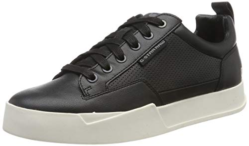 G-STAR RAW Herren Rackam Core Low Sneaker, Mehrfarbig (Black/White A940-964), 41 EU