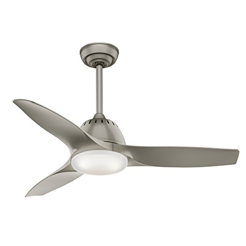 Casablanca Wisp Indoor Ceiling Fan with LED Light and Remote Control