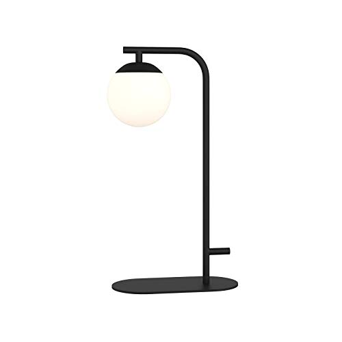 LED Lámpara de mesa 'Rama' (Moderno) en Negro hecho de Metal e.o. para Salón & Comedor (1 llama, G9, A++) de Lucande   lámpara de mesa LED