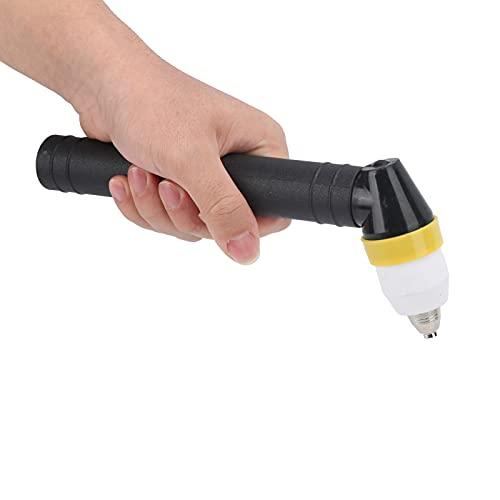 Jopwkuin Cabeza de la antorcha de Soldadura, plástico ABS de la Cabeza de la antorcha de la manija Redonda para Corte de Metales