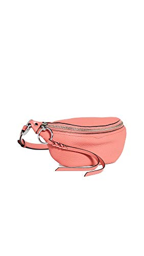 Rebecca Minkoff Women's Bree Mini Belt Bag, Grapefruit, One Size