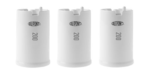 DuPont WFFMC303X Ultra Protection 200-Gallon Faucet Mount Water Filtration Cartridge,3 pack