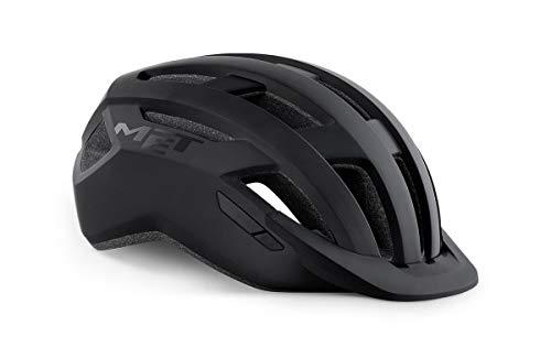 MET Casque de vélo AllRoad Noir Taille M (56-58)