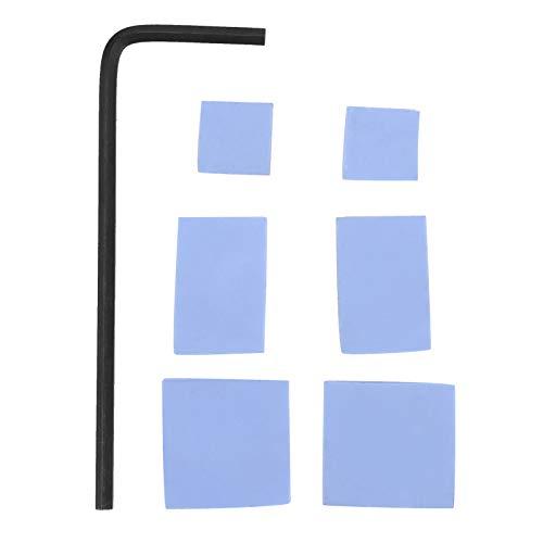 jadenzhou Carcasa de refrigeración, Carcasa de Metal para disipador de Calor, Resistente al Desgaste para Placa Base de computadora de Escritorio con disipador de Calor