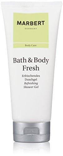 Marbert Bath & Body Fresh femme/dames, refreshing douchegel, per stuk verpakt (1 x 200 ml)