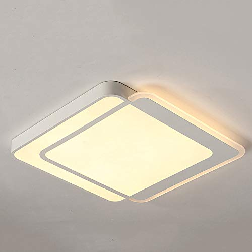 SXFYWYM Ceiling Light Simple Modern Round Square Acryl Materiaal-handelier voor woonkamer-badkamer Hotel Lighting