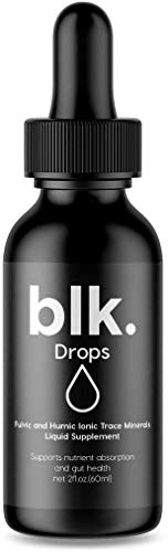 Natural Fulvic and Humic Trace Mineral Drops with Zinc, Magnesium & More. Liquid Electrolytes Improves Gut Health, Energy, Keto Diets. Add to Coffee, Tea, Smoothie. Make Water Alkaline 2oz