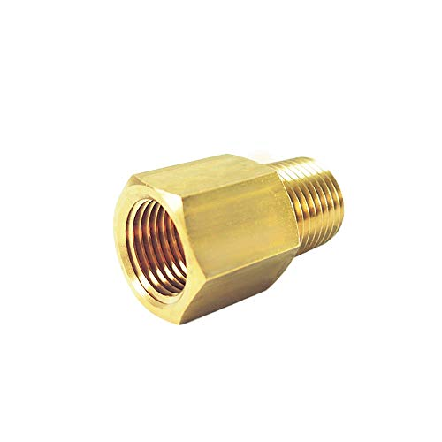 NIGO Industrial Co. Brass Pipe Fitting, Reducer Adapter (1, 3/8