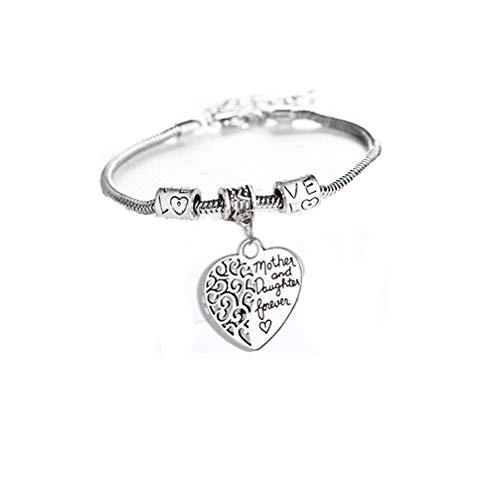 LoveAloe Mother's Day Gift Bracelet jonc pour maman de Children Love Mother
