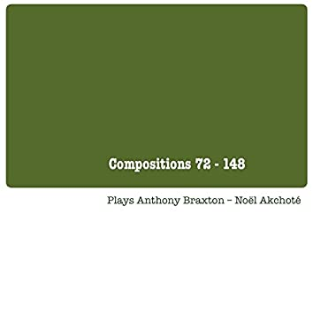 Compositions 72 - 148 (Plays Anthony Braxton)