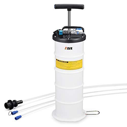 EWK Pneumatic/Manual 6.5 Liter Oil Changer Vacuum Fluid Extractor...